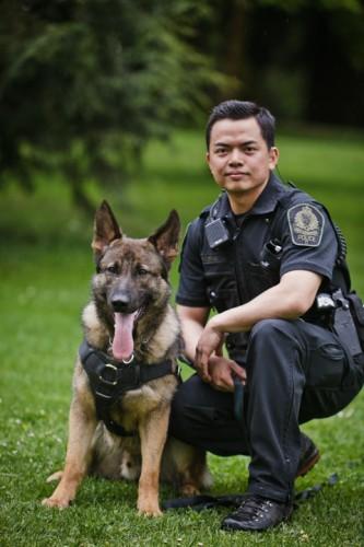 K Unit Dogs Training